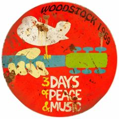 Woodstock - round - XL