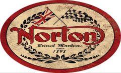 Norton - oval