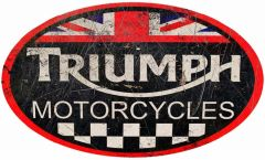 Triumph Motorcycles - oval
