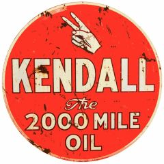 Kendall - the 2000 mile oil - round - XL