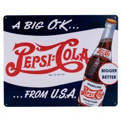 Pepsi Cola - A Big Ok!