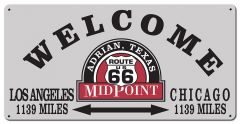 Welcome Midpoint Route 66