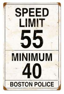 Speed Limit 55