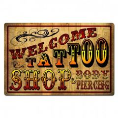 Welcome Tattoo Shop