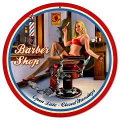 Barber Shop Pin Up