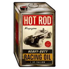 Racing Oil Tin - Hot Rod
