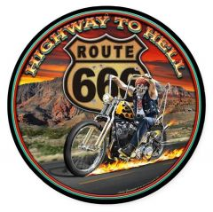 Highway to Hell - round