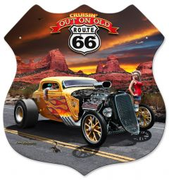 3-D Out on Route 66 - XXL