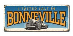 I tasted salt in Bonneville