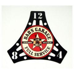 Dad's Garage - Clock