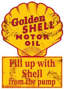 Golden Shell Motor Oil