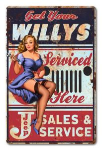 Jeep Willys - Service