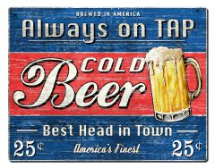 Always on Tap - Cold Beer