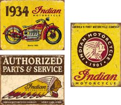 Indian - Set van 3 Signs