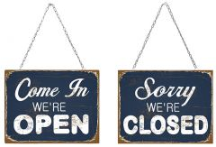 Open and Closed - Set van 2 Signs