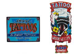 Tattoo - Set van 2 Signs