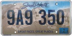 South-Dakota - Mount Rushmore - Dark