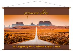 Wanddoek - Monument Valley