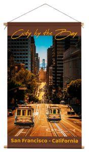 Wanddoek - San Francisco Cable Car