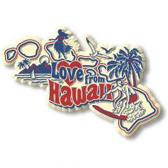 Vintage State - Hawaii - Magneet