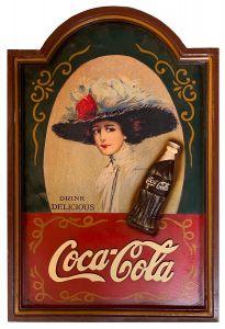 Coca-Cola - wood - Drink Delicious Lady