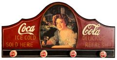 Coca-Cola - wood - Kapstok - Coat Rack