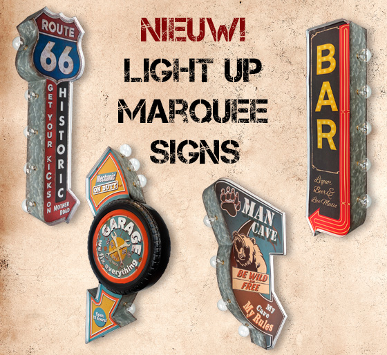 Light Up marquee signs