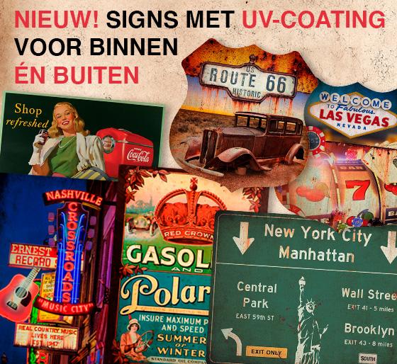 Signs - Outside UV Coating