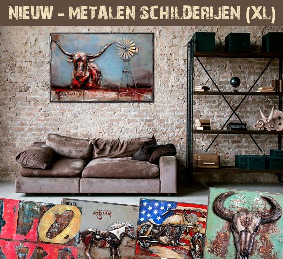 Metalen Schilderij - Wall Art