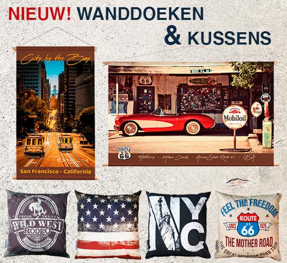 Signs - wanddoek-kussens