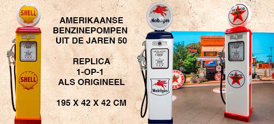 Benzinepomp jaren 50