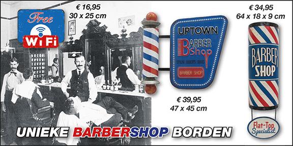 barber shop kapsalon kappers borden